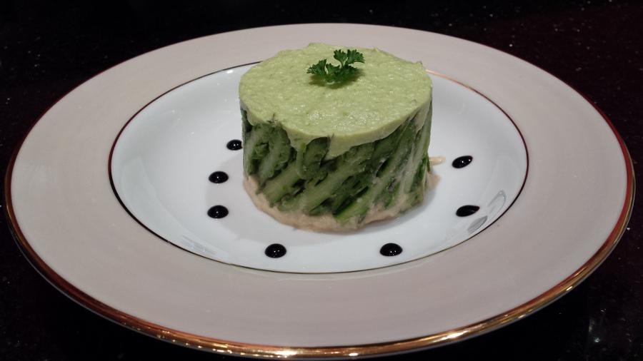 L 39 crin de vert la charlotte aux asperges - Cuisiner les asperges vertes fraiches ...
